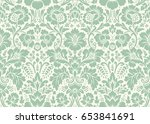 seamless floral pattern in the... | Shutterstock . vector #653841691