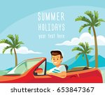 vector illustration with young  ... | Shutterstock .eps vector #653847367