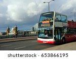 london  england  uk  january 10 ... | Shutterstock . vector #653866195