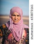 merzouga  morocco   january 8 ... | Shutterstock . vector #653873161