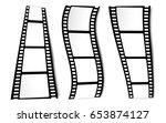 on white in black and white... | Shutterstock .eps vector #653874127