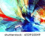bright color motion composition.... | Shutterstock . vector #653910049