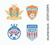 soccer club logo or badge....   Shutterstock .eps vector #653910094
