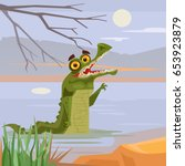 Happy Smiling Crocodile...