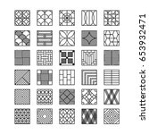 geometric design elements | Shutterstock .eps vector #653932471