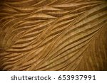 traditional thai style pattern... | Shutterstock . vector #653937991