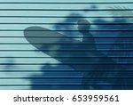 Blue Aluminum Alloy Wall...