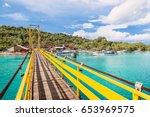 Tropical Island In Indonesia ...