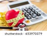health insurance. concept for... | Shutterstock . vector #653970379