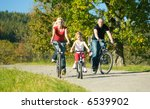 a family with children having a ... | Shutterstock . vector #6539902