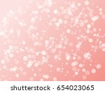 abstract sparkling stars... | Shutterstock .eps vector #654023065