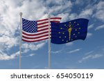 3d Illustration Of Usa And...