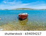 alacati  izmir  turkey   may 24 ... | Shutterstock . vector #654054217