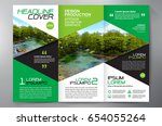 business brochure. flyer design.... | Shutterstock .eps vector #654055264