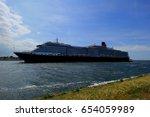 ijmuiden  the netherlands  ... | Shutterstock . vector #654059989