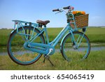 A Bicycle Gazelle With Flowers...