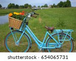Bicycle Gazelle With Basket An...