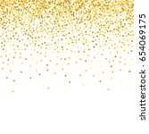 gold background. yellow and... | Shutterstock .eps vector #654069175