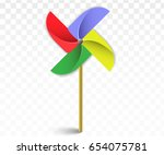 Colorful Paper Windmill...