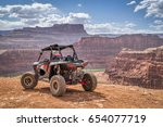 moab  ut  usa   may 7  2017 ... | Shutterstock . vector #654077719