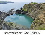 blue lagoon  abereiddy ...