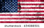 flag of united states | Shutterstock . vector #654088501