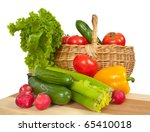 spring fresh and ripe... | Shutterstock . vector #65410018