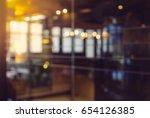 abstract background bokeh in... | Shutterstock . vector #654126385