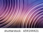 colorful ripple background | Shutterstock . vector #654144421
