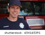 This Is A Photo Of A Fireman...