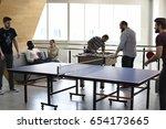People Break Playing Table...