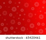 Christmas Snowflakes Isolated...