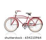 Retro Vintage Red Bicycle...