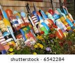 Decorative Buoys By The Side O...