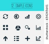 vector illustration set of... | Shutterstock .eps vector #654245641