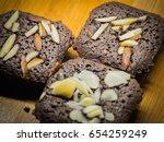 brownie sweet items | Shutterstock . vector #654259249