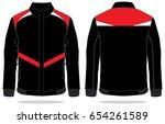 jacket design vector   Shutterstock .eps vector #654261589
