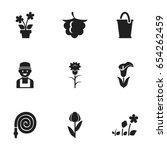 set of 9 editable planting...