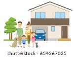 relationship of good family | Shutterstock .eps vector #654267025