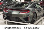 Small photo of FORT LAUDERDALE - MARCH 27, 2016: Fort Lauderdale International Auto Show, Broward, compact, sports, SUV, pick-up and luxury vehicles, Miami cars, Acura