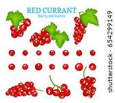 vector set of a fresh red...   Shutterstock .eps vector #654299149