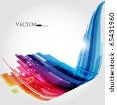 abstract background vector | Shutterstock .eps vector #65431960