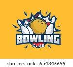 modern professional sports... | Shutterstock .eps vector #654346699