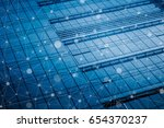 smart city and internet of... | Shutterstock . vector #654370237