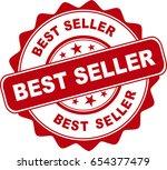 red bestseller stamp | Shutterstock .eps vector #654377479