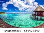 Maldives Water Bungalow On...