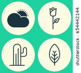 world icons set. collection of... | Shutterstock .eps vector #654442144