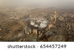 masjid al haram from air  with ... | Shutterstock . vector #654457249