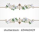 Vintage Gold Frame. Decorative...