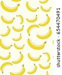 banana pattern | Shutterstock .eps vector #654470491